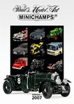 Minichamps 2007 1st Edition Catalog - 216 Pages