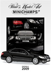 Minichamps 2009 2nd Edition Catalog 24 Pages