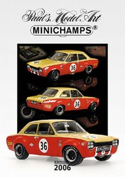 Minichamps 2006 3rd Edition Catalog - 20 Pages