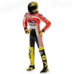 2011 Valentino Rossi Figurine - Launch Version, Standing with Helmet On