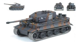 German Late Version Sd. Kfz. 181 PzKpfw VI Tiger I Ausf. E Heavy Tank - sKp/SS-Panzer Regiment 2, 2.SS Panzer Division Das Reich, Zihtomir, Russia, 1943