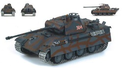 German Late Version Sd. Kfz. 171 PzKpfw V Panther Ausf. G Medium Tank - Herman von Saltza Abteilung, 11.SS Panzergrenadier-Division Nordland, Berlin, 1945
