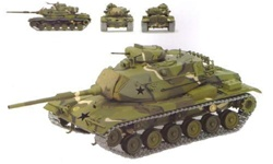 US M60A1 Main Battle Tank - MERDC Camouflage, Germany, Late 1970'S