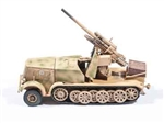 German Sd. Kfz.8 DB9 with FlaK 18 88mm Anti-Aircraft Gun - Deutsche Afrika Korps