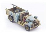 British Chevrolet WB 30 cwt 4x2 Long Range Desert Group Patrol Truck - Sand and Blue Camouflage