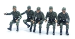 German World War II Riders - Set B