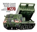 German Ground Self-Defense Forces M270 Multiple Launch Rocket System (MLRS) - Woodlands Camouflage