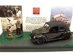German 1938 Volkswagen Type 87 Peoples Car with Hitler and His Dog Blondi, Eagles Nest, 1941