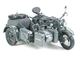 German Zundapp KS750M Motorcycle with Sidecar - Luftwaffe