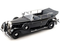1938 Grand Mercedes 770K Cabriolet Ceremonial Parade Limousine - Black