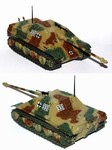 German Sd. Kfz. 173 Jagdpanther Tank Destroyer in Ambush Pattern