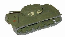 Russian Kliment Vorishilov KV-1A Heavy Tank - Green