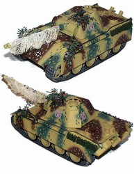 German Late Version Sd. Kfz. 171 PzKpfw V Panther Ausf. G Medium Tank with Zimmerit in Autumn Ambush Camouflage