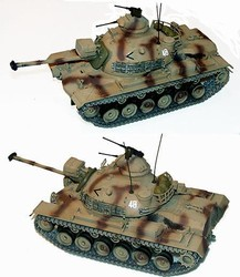 US M48 A3 Patton Medium Tank - Desert Camouflage
