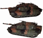 US M1A2SEP Abrams Main Battle Tank - Tri-Color European Camouflage