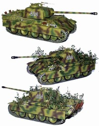 German Late Version Panther Ausf G Medium Tank - SS-Oberscharfuhrer Ernst Barkmann, 424, 4.Kompanie, SS Panzer Regiment 2, 2.SS Panzer Division, Normandy, 1944- SS-Oberscharfuhrer Ernst Barkmann, SS Panzer Regiment 2, 2.SS Panzer Division, Normandy, 1944
