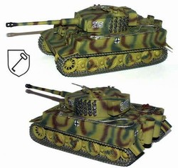 German Sd. Kfz. 181 PzKpfw VI Tiger I Ausf. E Heavy Tank - 1.SS Panzer Division LSSAH