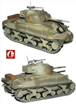M4A3 Sherman Medium Tank - British 7th Armoured The Desert Rats