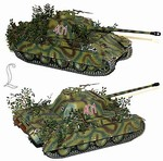 German Late Version Sd. Kfz. 171 PzKpfw V Panther Ausf. G Medium Tank - Panzer Lehr