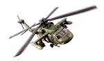 US Army Sikorsky UH-60 Black Hawk Medium Lift Utility Helicopter - 101st Airborne Division [Air Assault], Kuwait, 1991