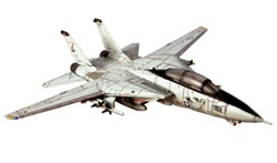 US Navy Grumman F-14A Tomcat Fleet Defense Fighter - VF-84 Jolly Rogers, Operation Desert Storm, Kuwait, 1991