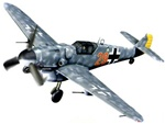 German Messerschmitt Bf 109G-6 Fighter - Red 29, Finland, 1944