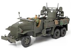 1942 Production US Army GMC Open Cab CCKW 353 6x6 2-1/2 Ton Truck With Quad 50 Cal Gun - Unidentified Unit, Normandy, 1944 [D-Day Commemorative Packaging]