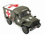 US Army Dodge WC54 Ambulance - 316th Medical Battalion, 91st Infantry Division, Normandy, France, 1944 [D-Day Commemorative Packaging]