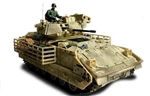 US M3A2 Bradley Cavalry Fighting Vehicle - Black 43, Unidentified Unit,Operation Iraqi Freedom, 2003