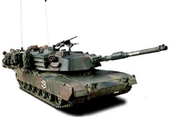US M1A1 Abrams Main Battle Tank - Big Hitch, Bravo Company, 2-70th Armor, 1st Armored Division, Operation Iraqi Freedom, 2003