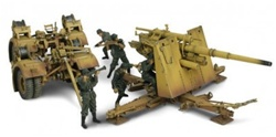 German 88mm Flak 36/37 Anti-Aircraft Gun with Trailer - Unidentified Unit, Normandy, 1944 [D-Day Commemorative Packaging]