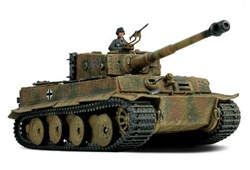German Late Production Sd. Kfz. 181 PzKpfw VI Tiger I Ausf. E Heavy Tank - Black 331, Unidentified Unit, Normandy, 1944 [D-Day Commemorative Packaging]