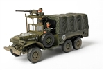 US Army Dodge WC 63 6x6 1-1/2 Ton Truck - Unidentified Unit, European Theatre of Operations, 1945 [D-Day Commemorative Packaging]