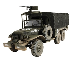 US Army Dodge WC 63 6x6 1-1/2 Ton Truck - Unidentified Unit, Europe, 1945