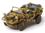 German VW-166 Schwimmwagen - 1.SS Panzer Division LSSAH, Normandy, 1944 [D-Day Commemorative Packaging]