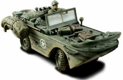 US Army GPA Amphibian Jeep - 82nd Airborne Division All American, Normandy, 1944