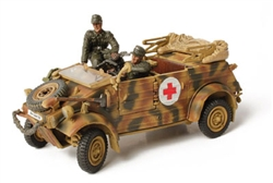 German VW-82 Kubelwagen Ambulance - Unidentified Unit, Holland, 1944