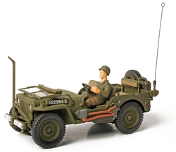 US Willys-Overland Jeep - Unidentified Unit, Normandy, 1944 [D-Day Commemorative Packaging]