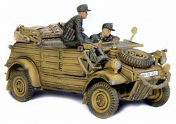 German VW-82 Kubelwagen - Unidentified Unit, Normandy, 1944