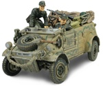 German VW-82 Kubelwagen - Unidentified Unit, Normandy, 1944 [D-Day Commemorative Packaging]
