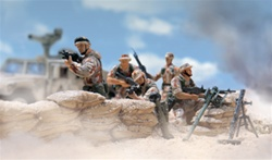 US 101st Airborne Division [Air Assault] The Screaming Eagles Figure Pack