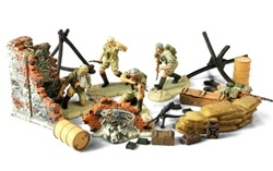 British 7th Armoured Division The Desert Rats Figure Pack