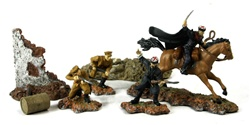 Russian Cossack Cavalry Division Figure Pack - Eastern Front, 1942