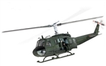 US Army Bell UH-1D Huey Helicopter - Unidentified Unit, Vietnam, 1968