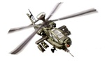 US Army Boeing AH-64D Apache Longbow Attack Helicopter - Operation Iraqi Freedom, 2003