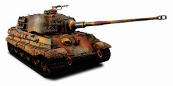 German Sd. Kfz. 182 PzKpfw VI King Tiger Ausf. B Heavy Tank - schwere Panzer Abteilung 502, Germany, 1945