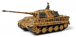 German Sd. Kfz. 182 PzKpfw VI King Tiger Ausf. B Heavy Tank with Zimmerit - Unidentified Unit, Normandy, 1944 [D-Day Commemorative Packaging]
