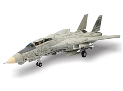 "US Navy Grumman F-14A Tomcat Fleet Defense Fighter - VF-32 ""Fighting Swordsmen"", USS John F. Kennedy (CV-67), 1989 [Low-Vis Scheme]"