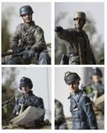 German WWII Soldier Set - 4 Figures