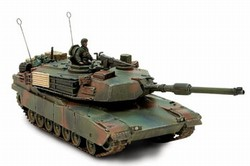 US M1A2 Abrams Main Battle Tank - Tri-Color Camouflage